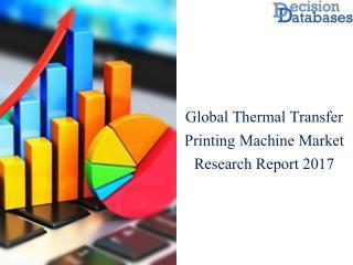 Global Thermal Transfer Printing Machine Market Analysis By Types 2017