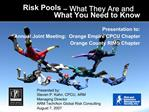 Risk Pools  What They Are and  What You Need to Know