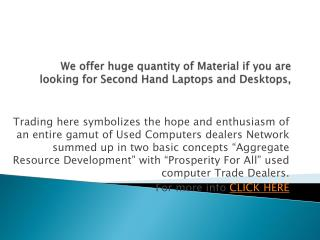 used laptops supplier in Delhi