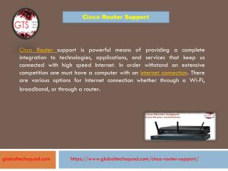 Cisco router Models Toll-free number 1-800-294-5907