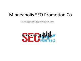 Minneapolis SEO Promotion Company
