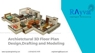Architectural Floor Plan Design,Drafting and Modeling