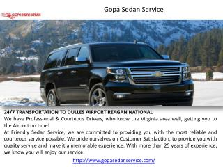 Gopa Sedan Service | Door to Door Car Service