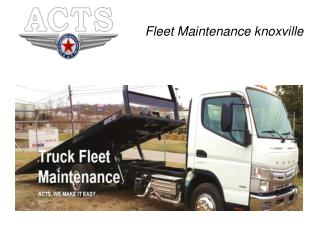 Fleet Maintenance knoxville