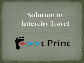 Hiring a Cab for Intercity Travel