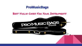 Violin Cases Cover With Good Quality and lightweight