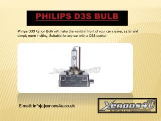 Philips D3S Bulb
