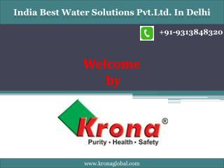 Ro water purifier Supplier in Delhi