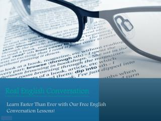 English Conversation Download