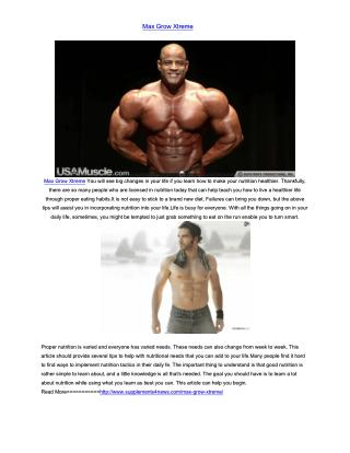 http://www.supplements4news.com/max-grow-xtreme/