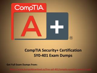 How Can You Prepare CompTIA SY0-401 Exam - Presentation