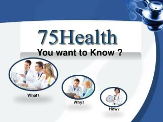 75Health EMR - you want to know ?
