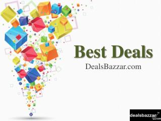 Best Deals, Offers and Discounts from leading online stores in India.