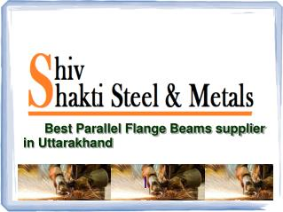 Parallel Flange Beams supplier in Uttarakhand