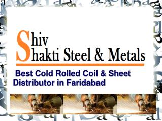 Cold Rolled Coil & Sheet Distributor in Faridabad