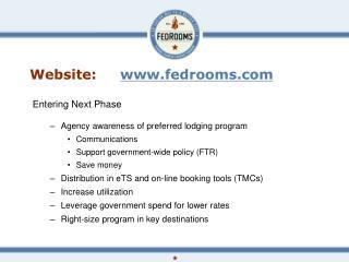 Website:     fedrooms