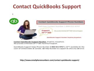 contact quickbooks support