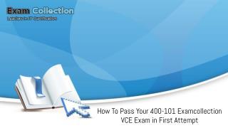 400-101 Examcollection VCE