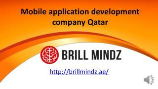 Mobile application development company Qatar