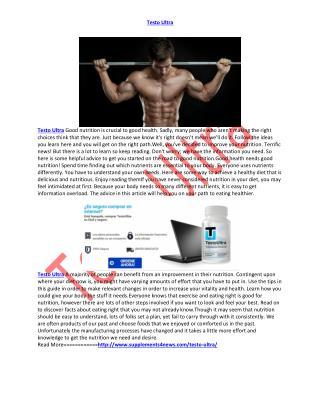 http://www.supplements4news.com/testo-ultra/