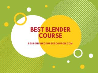 Best Blender Course