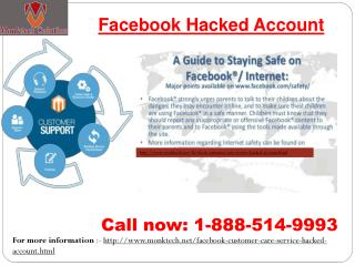 Easy way to Find facebook hacked account dial 1-888-514-9993
