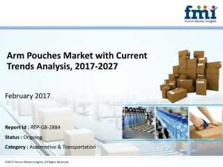 Arm Pouches Market Value Chain and Forecast 2017-2027