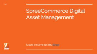 SpreeCommerce Digital Asset Management
