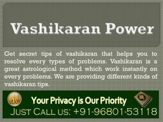 Vashikaran Astrology Tips