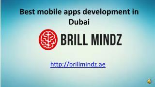 Mobile application development company Dubai