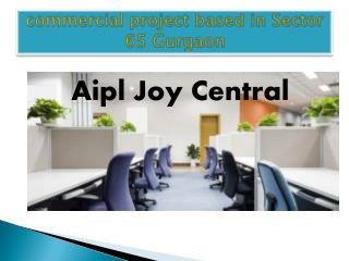 AIPL Joy Central Gurgaon