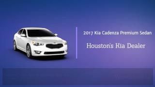 2017 Kia Cadenza Primium Sedan