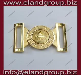 Dubai Police Belt Buckle