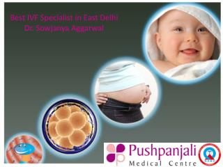 Best IVF specialist in East Delhi - Dr Sowjanya Aggarwal