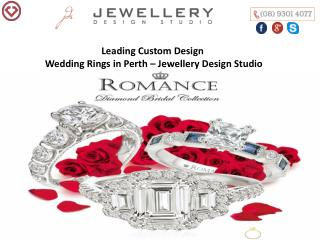Leading Custom Design Wedding Rings in Perth – Jewellery Design Studio