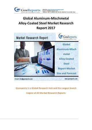 Global Aluminum-Mischmetal Alloy-Coated Steel Market Research Report 2017