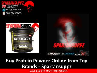Buy Protein Powder Online from Top Brands –Spartansuppz