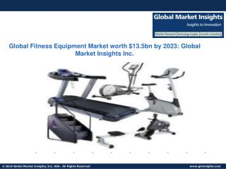 Fitness Equipment Market in Health clubs to grow at 3.3% CAGR from 2016 to 2023