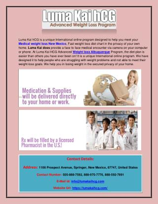 Weight loss New Mexico,Albuquerque, Colorado, Santa Fe , Denver - Hcg diet New Mexico