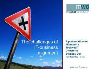 The challenges of IT-business alignment