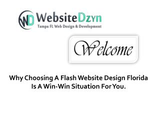 Why Choosing A Flash Website Design Florida Is A Win-Win Situation For You?