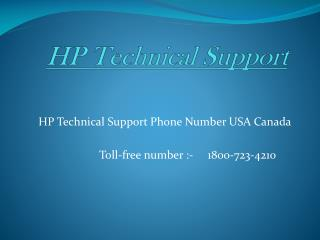 HP Printer Technical Support phone number 1800-723-4210 USA Canada