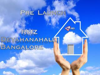 RMZ Devanahalli Coming Residential Project in North Bangalore