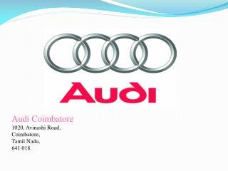 Audi a3 Cabriolet in Coimbatore