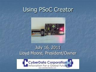 Using PSoC Creator