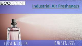 Industrial air fresheners By ECO Scent