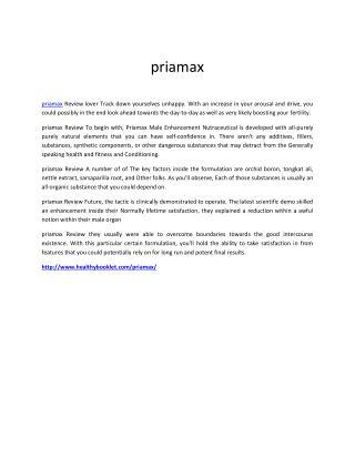 http://www.healthybooklet.com/priamax/