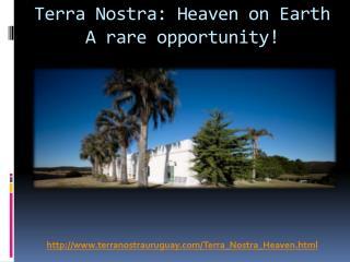 Retreat Center for Sale in Uruguay
