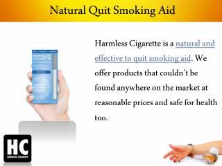 Natural Quit Smoking Aid