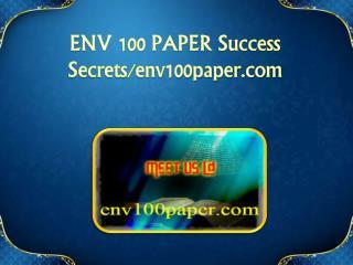 ENV 100 PAPER Success Secrets/env100paper.com